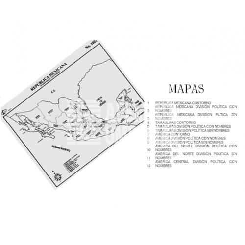 Mapa De Tamaulipas Con Division Politica Sin Nombres